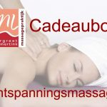 Cadeaubon ontspanningsmassage